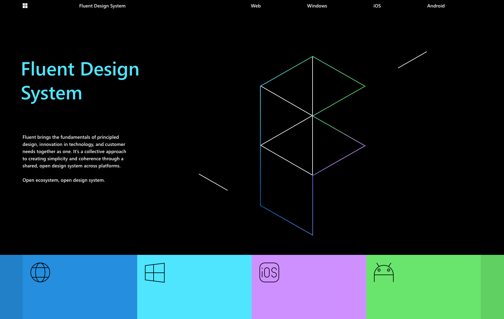 Microsoft Fluent DesignSystem