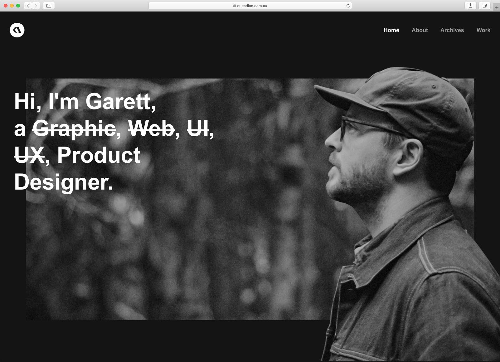 Garett MacGillivray's Portfolio