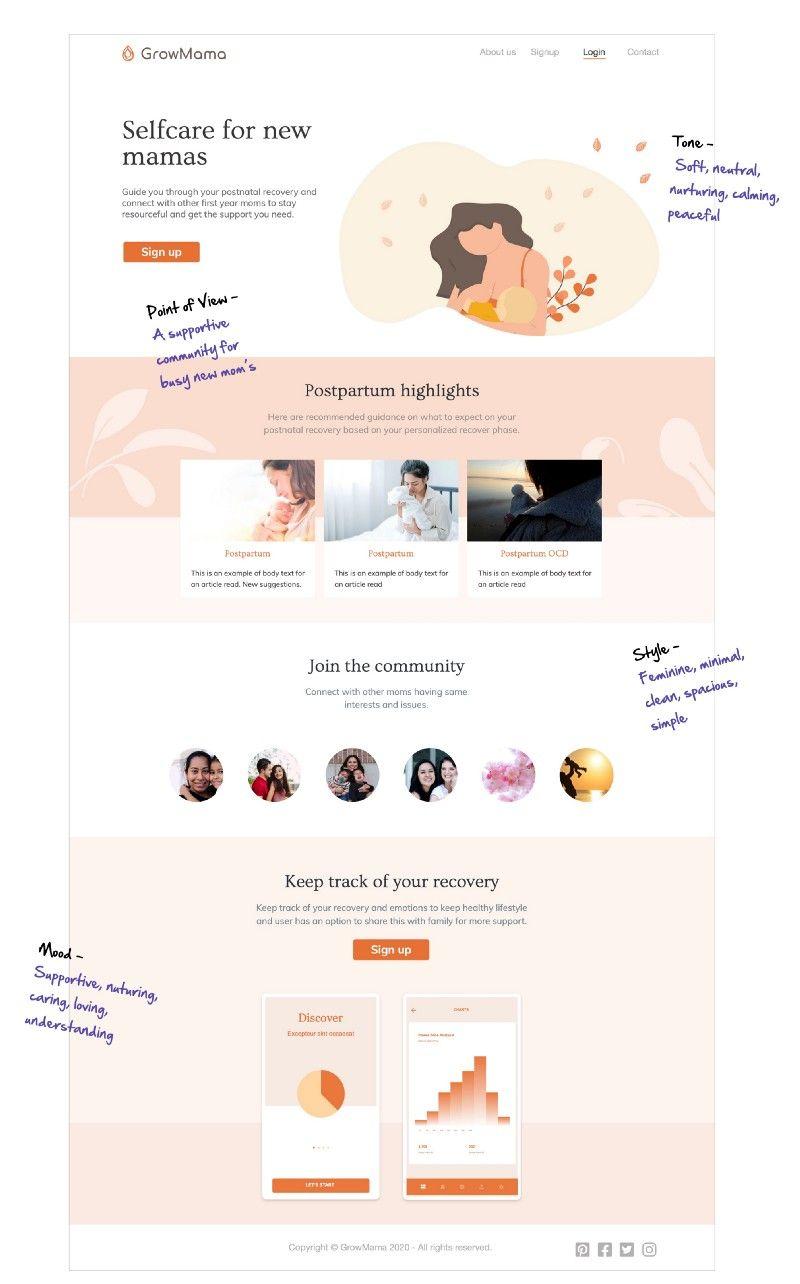 DesignerUp Student Masako Mizutani's Postpartum App