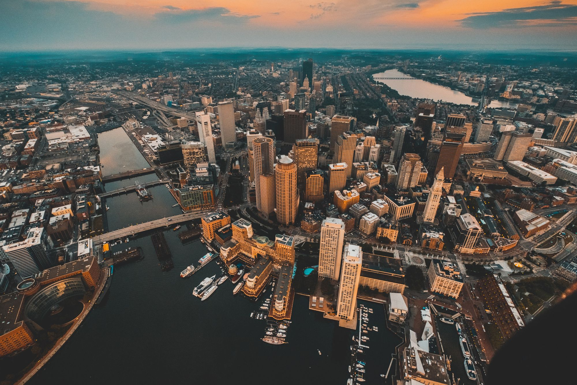 Photo of the Boston City Skyline