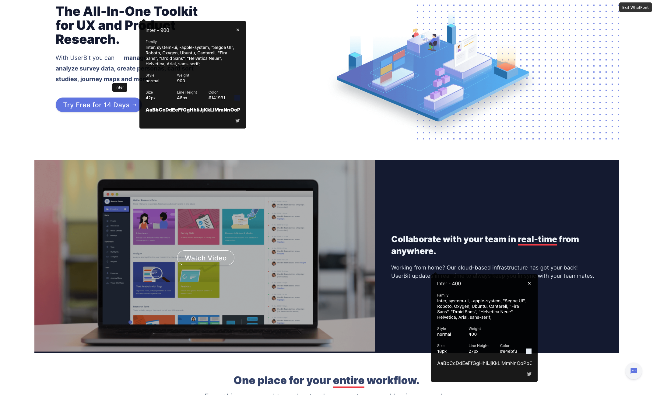 Userbit Homepage