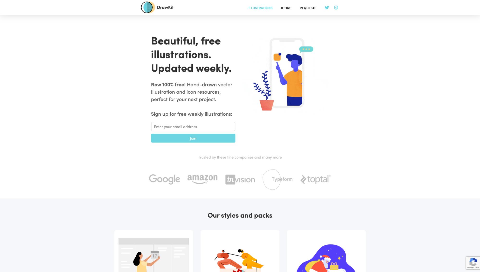 Drawkit website