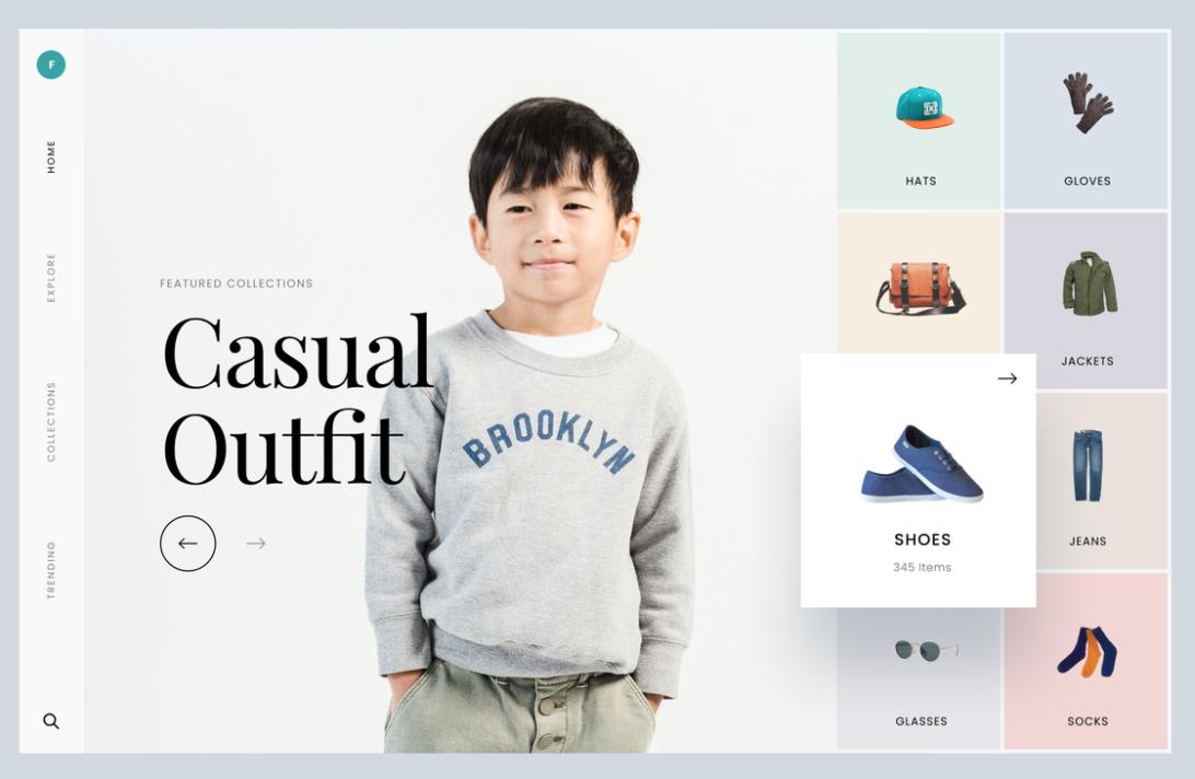 Cute asian bog modeling sweatshirt that says Brooklyn